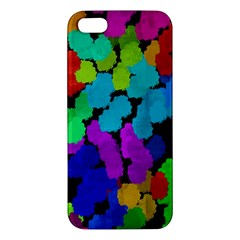 Colorful Strokes On A Black Background         Samsung Galaxy Note 3 Leather Folio Case by LalyLauraFLM