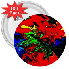 Colors 3  Buttons (100 Pack)  by Valentinaart