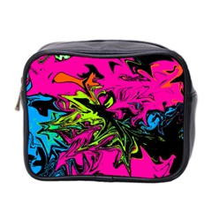 Colors Mini Toiletries Bag 2 Side by Valentinaart