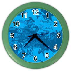 Colors Color Wall Clocks by Valentinaart