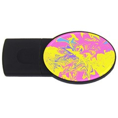 Colors Usb Flash Drive Oval (4 Gb) by Valentinaart