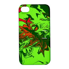Colors Apple Iphone 4/4s Hardshell Case With Stand