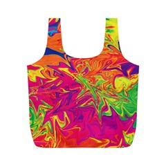 Colors Full Print Recycle Bags (m)  by Valentinaart
