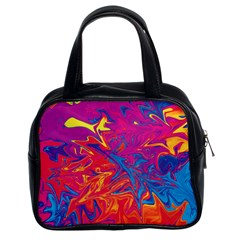 Colors Classic Handbags (2 Sides) by Valentinaart
