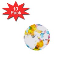 Lamp Color Rainbow Light 1  Mini Buttons (10 Pack)  by Mariart