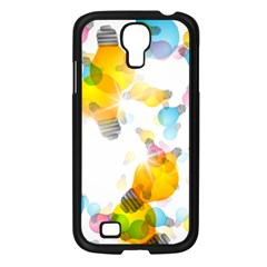 Lamp Color Rainbow Light Samsung Galaxy S4 I9500/ I9505 Case (black) by Mariart