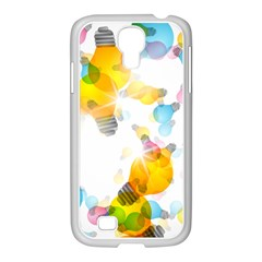 Lamp Color Rainbow Light Samsung Galaxy S4 I9500/ I9505 Case (white) by Mariart