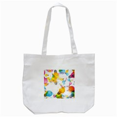Lamp Color Rainbow Light Tote Bag (white)