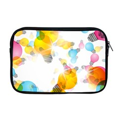 Lamp Color Rainbow Light Apple Macbook Pro 17  Zipper Case by Mariart