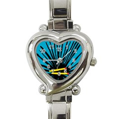 Match Cover Matches Heart Italian Charm Watch by Mariart