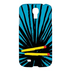 Match Cover Matches Samsung Galaxy S4 I9500/i9505 Hardshell Case by Mariart