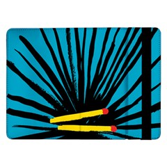 Match Cover Matches Samsung Galaxy Tab Pro 12 2  Flip Case by Mariart