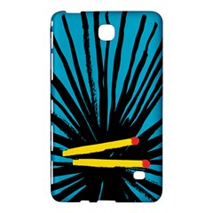 Match Cover Matches Samsung Galaxy Tab 4 (8 ) Hardshell Case  by Mariart