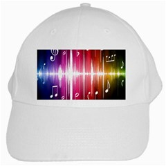 Music Data Science Line White Cap by Mariart