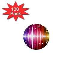 Music Data Science Line 1  Mini Magnets (100 Pack)  by Mariart