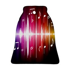 Music Data Science Line Bell Ornament (two Sides) by Mariart