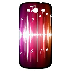 Music Data Science Line Samsung Galaxy S3 S Iii Classic Hardshell Back Case by Mariart