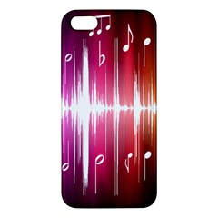 Music Data Science Line Iphone 5s/ Se Premium Hardshell Case by Mariart