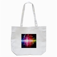Music Data Science Line Tote Bag (white) by Mariart