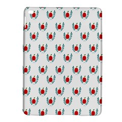 Sage Apple Wrap Smile Face Fruit Ipad Air 2 Hardshell Cases by Mariart