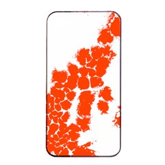 Red Spot Paint Apple Iphone 4/4s Seamless Case (black) by Mariart