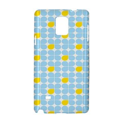 Retro Stig Lindberg Vintage Posters Yellow Blue Samsung Galaxy Note 4 Hardshell Case by Mariart