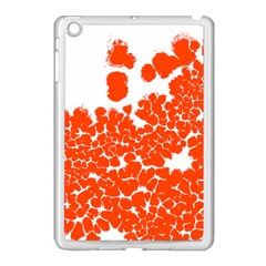 Red Spot Paint White Polka Apple Ipad Mini Case (white) by Mariart