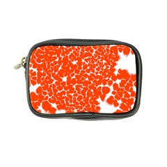 Red Spot Paint White Coin Purse by Mariart