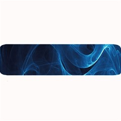 Smoke White Blue Large Bar Mats by Mariart
