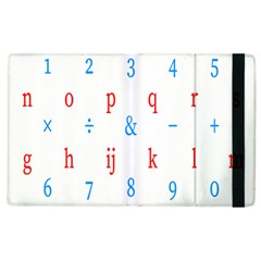 Source Serif Number Apple Ipad 2 Flip Case by Mariart