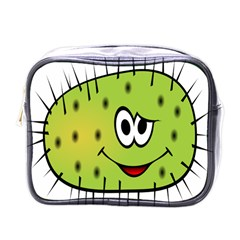 Thorn Face Mask Animals Monster Green Polka Mini Toiletries Bags by Mariart
