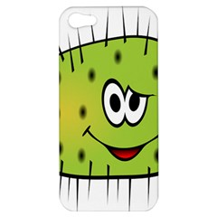 Thorn Face Mask Animals Monster Green Polka Apple Iphone 5 Hardshell Case by Mariart