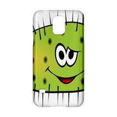 Thorn Face Mask Animals Monster Green Polka Samsung Galaxy S5 Hardshell Case  by Mariart