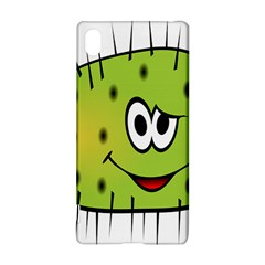 Thorn Face Mask Animals Monster Green Polka Sony Xperia Z3+ by Mariart
