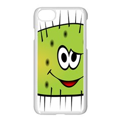Thorn Face Mask Animals Monster Green Polka Apple Iphone 7 Seamless Case (white) by Mariart