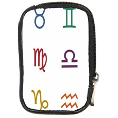 Twelve Signs Zodiac Color Star Compact Camera Cases by Mariart