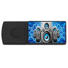 Sound System Music Disco Party Usb Flash Drive Rectangular (4 Gb) by Mariart