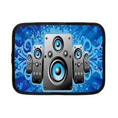 Sound System Music Disco Party Netbook Case (small)  by Mariart