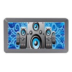 Sound System Music Disco Party Memory Card Reader (mini) by Mariart