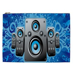 Sound System Music Disco Party Cosmetic Bag (xxl)  by Mariart
