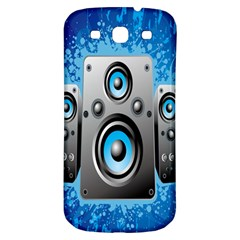 Sound System Music Disco Party Samsung Galaxy S3 S Iii Classic Hardshell Back Case by Mariart