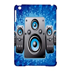 Sound System Music Disco Party Apple Ipad Mini Hardshell Case (compatible With Smart Cover) by Mariart
