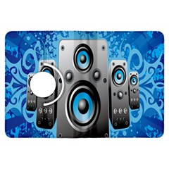 Sound System Music Disco Party Kindle Fire Hdx Flip 360 Case by Mariart