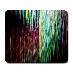 Screen Shot Line Vertical Rainbow Large Mousepads by Mariart