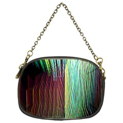 Screen Shot Line Vertical Rainbow Chain Purses (two Sides)  by Mariart