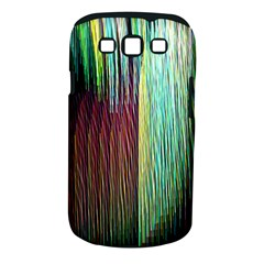 Screen Shot Line Vertical Rainbow Samsung Galaxy S Iii Classic Hardshell Case (pc+silicone) by Mariart