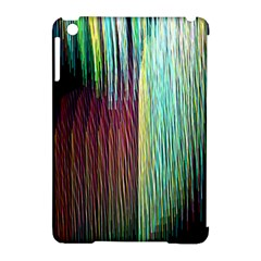 Screen Shot Line Vertical Rainbow Apple Ipad Mini Hardshell Case (compatible With Smart Cover) by Mariart