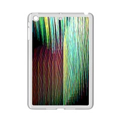 Screen Shot Line Vertical Rainbow Ipad Mini 2 Enamel Coated Cases by Mariart