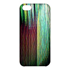 Screen Shot Line Vertical Rainbow Apple Iphone 5c Hardshell Case by Mariart