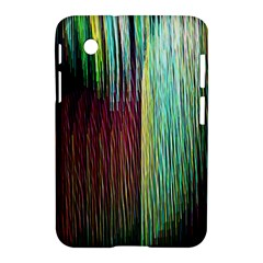 Screen Shot Line Vertical Rainbow Samsung Galaxy Tab 2 (7 ) P3100 Hardshell Case  by Mariart